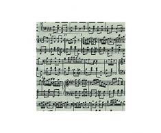 Caspari Inc. - Papel de regalo, diseño de notas musicales
