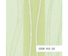 MUESTRA de papel pintado EDEM serie 955   Papel pintado no tejido XXL a rayas, 955-XX:S-955-28