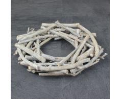 Palo-Corona de madera corona corona de adviento Navidad jardín 30 cm