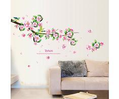 Pegatinas de flores comprar online tu pegatina de flor for Adhesivos pared dormitorio