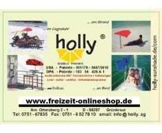 Holly stabielo - holly sunshade HPV Germany - Calefactor de gas (ideal para tiendas de campaña, caravanas u otros habitáculos, se puede colocar de pie o en la pared, acero inoxidable, encendedor piezo, con apagado de seguridad