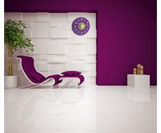 TFA 60.3015.11 - Reloj de pared electrónico, 230 mm, multicolor