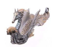 Soporte para incienso con luces Dragon Ashcatcher