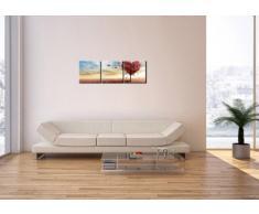 Cuadro sobre lienzo - 3 piezas - Impresión en lienzo - Ancho: 90cm, Altura: 30cm - Foto número 2609 - listo para colgar - en un marco - CA90x30-2609