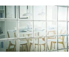 MY-Furniture – Azulejos de pared cuadrados biselados con espejo (6 x 30cm x 30cm) – bano y cocina