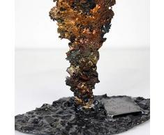 sombra Actor 3 - Escultura Philippe Buil - Cara de encaje de metal - Bronce Acero
