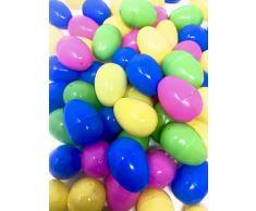 48 Huevos Rellenos de Relleno de Pascua, Cada Huevo: 6x4cm, Mantendrá Huevo de Crema