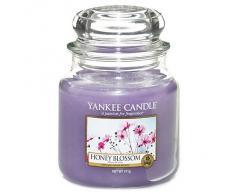 Yankee Candle Vela Perfumada néctar pote de miel, púrpura, talla M