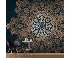 Fotomural 50x35 cm - 3 tres colores a elegir - Top - Papel tejido-no tejido. Fotomurales - Papel pintado Mandala Ornamento f-A-0546-a-c