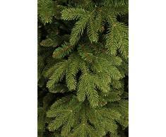 Black Box Trees 382756 Brampton Spruce – Árbol de Navidad Artificial, PVC/PE, Verde, 127 x 127 x 185 cm