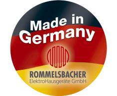 Rommelsbacher THS 2015 - Cocina eléctrica portátil (2 fuegos, esmaltada, temporizador de 15 minutos)