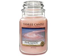 Yankee Candle Vela en Frasco, Rosa, Grande