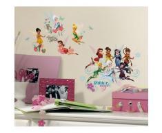 RoomMates RMK2058SCS - Pegatinas de Pared, diseño Disney Fairies El Secreto De Las Alas