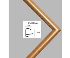 Easy Marco de plástico Para cuadros y pósteres 75,5x98,5 cm 98,5x75,5 cm Color selecionado: haya decorada Con vidrio acrílico