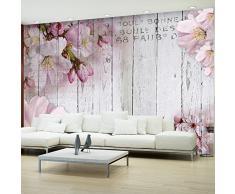 Fotomural 250x175 cm ! 3 tres colores a elegir - Papel tejido-no tejido. Fotomurales - Papel pintado flores le?a Juntas b-A-0202-a-b