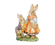 Smart Art resina marrón realista de conejo de Pascua Conejo Jardín al aire libre Paisaje Patio artesanía conejo figura