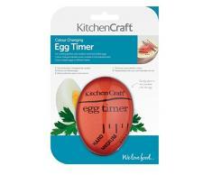 Kitchen Craft KCEGGTIMCOL - Temporizador de cocina