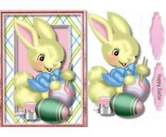 Ceredwyn Macrae - Figura decorativa de conejo de Pascua