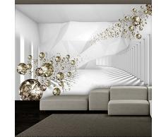 Fotomural 350x245 cm - 3 tres colores a elegir - Papel tejido-no tejido. Fotomurales - Papel pintado abstracción diamond óptico a-A-0188-a-b