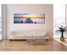 Cuadro sobre lienzo - de una sola pieza - Impresión en lienzo - Ancho: 160cm, Altura: 50cm - Foto número 2508 - listo para colgar - en un marco - AB160x50-2508