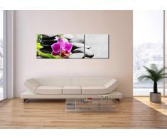 Cuadro sobre lienzo - 3 piezas - Impresión en lienzo - Ancho: 150cm, Altura: 50cm - Foto número 2681 - listo para colgar - en un marco - CA150x50-2681