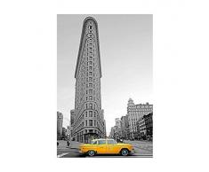 Grupo Erik Editores GPE4396 - Póster New York Taxi Amarillo, HFE, 61 x 91,5 cm