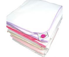 Con mangas para bebé forrado con suave tela de toallas de baño hojas de papel de impresión y a los y agradable al tacto 80/80 cm - pañales de , 5 Juego de pelotas de golf con diseño