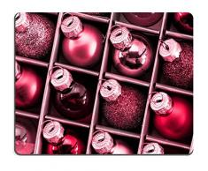 liili Mouse Pad de goma natural mousepad imagen ID 33283540 Close Up Foto de árbol de Navidad adornos