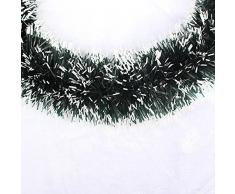 MoGist Corona de Navidad Fácil Lazo Corona de Navidad decoración Guirnalda Christmas Wreath Puerta Corona Corona de Adviento para Puerta y Ventana Árbol de Navidad, Schwarz-35cm, 35 cm