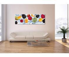 Cuadro sobre lienzo - 3 piezas - Impresión en lienzo - Ancho: 150cm, Altura: 50cm - Foto número 2675 - listo para colgar - en un marco - CA150x50-2675