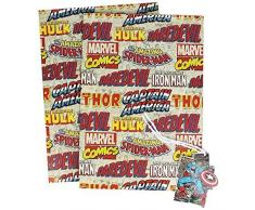 Marvel Comics Papel De Regalo