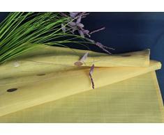 Camino de mesa camino de mesa bordado mantel Camino de Mesa primavera verano Pascua lino amarillo 40 x 100 cm de la unidad óptica