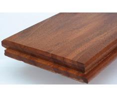 Suelo de madera maciza, machihembrado