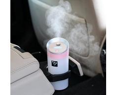 Humidificadores,Longra Car Familia gastos Anion humidificador purificador de aire ambientador con interfaz USB (Pink)