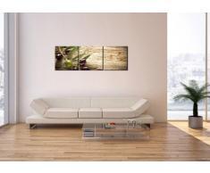Cuadro sobre lienzo - 3 piezas - Impresión en lienzo - Ancho: 120cm, Altura: 40cm - Foto número 2420 - listo para colgar - en un marco - CA120x40-2420