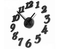 Ewin24 Contemporáneo Diy auto-adhesivo Interior Reloj de pared