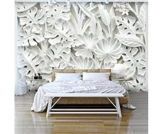 murando Fotomurales 350x256 cm XXL Papel pintado tejido no tejido Decoración de Pared decorativos Murales moderna Diseno Fotográfico blanco f-B-0038-a-a