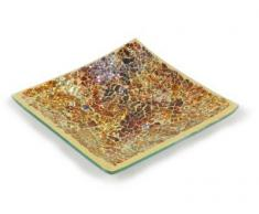 Plato decorativo 15,24 cm Mosaic plato - Golden Horizon