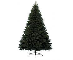 Kaemingk 683841 - Árbol de Navidad artificial, PVC, 180 cm, color verde