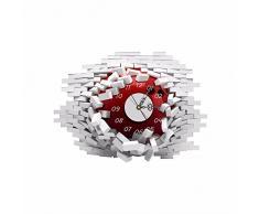 Bluelover Pag Etiqueta Engomada De La Pared 3D Reloj Calcomanías Colapsaron Pared Reloj Adhesivo Bricolaje Pared Hogar Decoración Regalo