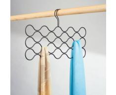 InterDesign Classico - Percha de 23 bucles, para bufandas, color bronce