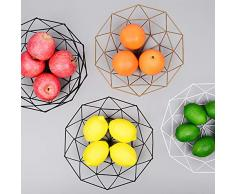 Macetero o como Despensa Para usarlas como Cestas de Frutas Scandinavian Hub Cesta Almacenaje Pared Set de 2
