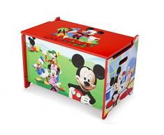 Delta Children Mickey - Caja de juguetes, unisex