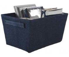 Compactor Rio - storage boxes & baskets (Storage basket, Azul, Marina, Caja de cartón, Ropa de cama, Papel, Monótono)