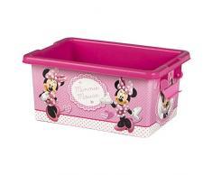 ColorBaby - Caja ordenación 7 litros, diseño minnie mouse (76602)