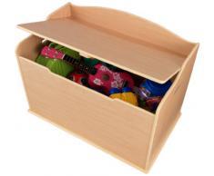 KidKraft Baúl de juguetes de madera Austin - natural