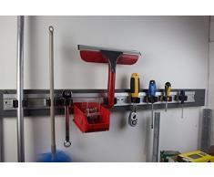 Dispositivo ehalter Barra, Jardín, Barra de ordenación de herramientas, herramientas Soporte de aluminio 480 Mm