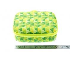 Zipit - Colorz Jumbo Tamaño grande caja de almacenaje, verde