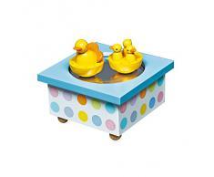 Trousselier - Caja de música para bebé, diseño patos (Trousselier S95001)