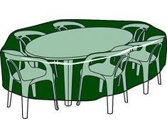BIOTOP B2220 - Funda Circular Cubre mesas y sillas de Polietileno